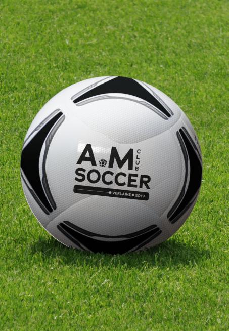 Ballon de foot AM Soccer